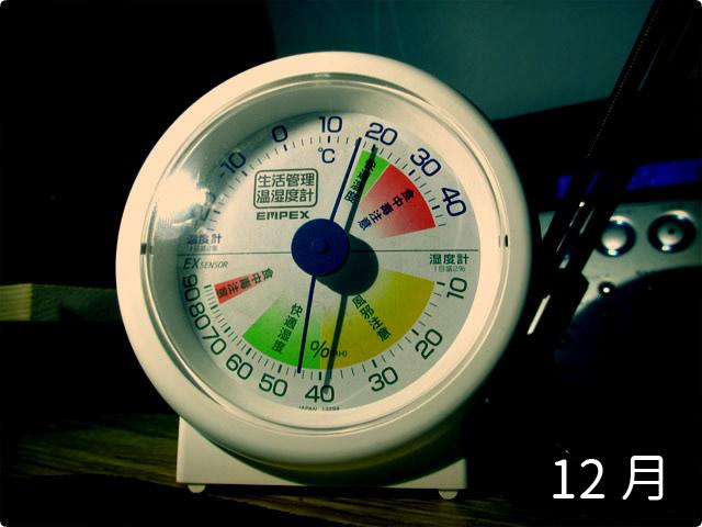 12月テント内温度