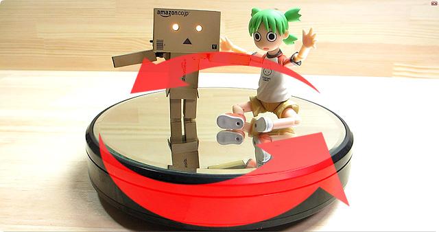 フィギアだけでなく重たい物も自動回転させられる「GSIクレオス Mr.ターンテーブルL ホビー用ツール DS001」のレビュー