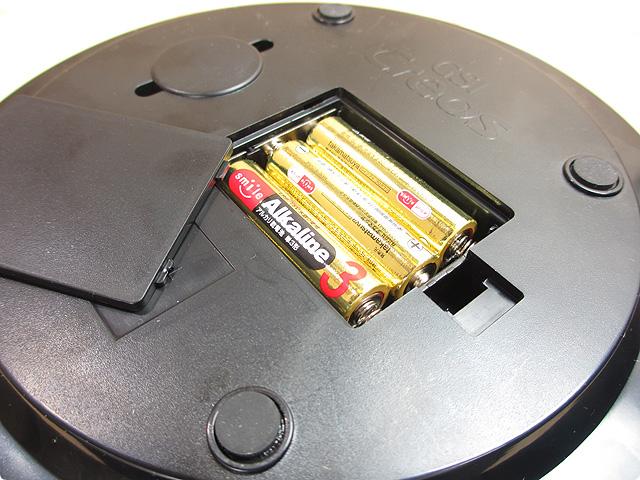 ターンテーブル(乾電池)