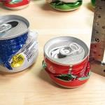 つぶれたアルミ缶
