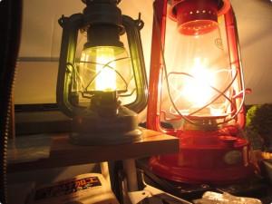 暖色LEDランタン