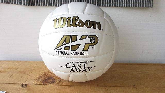 キャスト・アウェイ-バレーボール(ウィルソン)背面